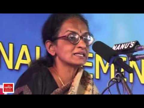 Peta Radha Rajan vulger Speech against Jallikattu Protest thumbnail