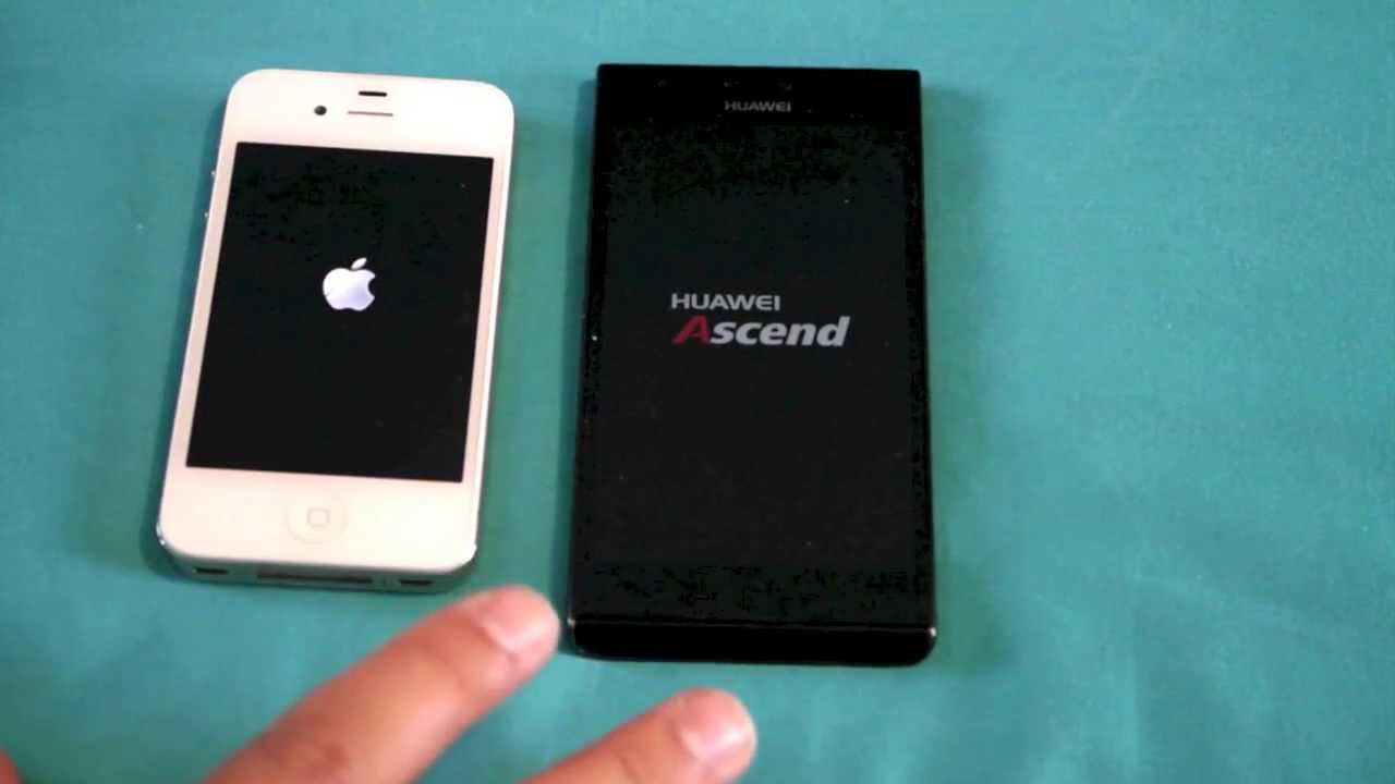 Huawei Ascend P2 vs iphone 4s