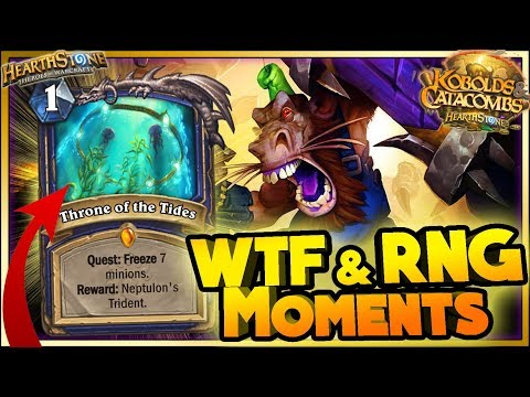 Hearthstone - WTF RNG Moments - Funny and lucky Rng Moments