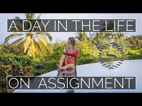 A Day in the Life on Assignment Sheraton Bali