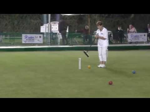2014 Women's Golf croquet worlds final clip 6