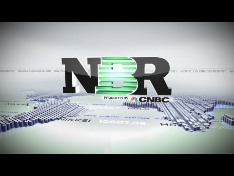 Nightly Business Report - Friday, April 19, 2013