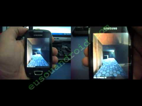 CyanogemMod 7.1.0 X CyanogenMod Andro-ID 3.2 Galaxy Mini