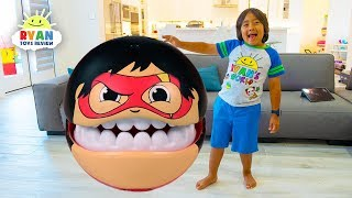 Ryan Pretend Play with Giant Gobsmax Toys for kids!!!