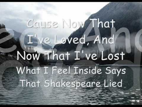 Red Goodbye - Shakespeare Lied