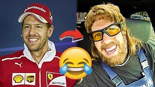 SEBASTIAN VETTEL'S FUNNIEST MOMENTS 😂PART 2