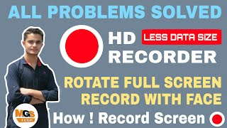 Best hd screen recoder for Android ! all problems solved
