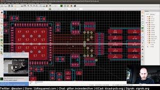 KiCad Let's Play #2 - fx2grok - Sigrok Logic Analyzer