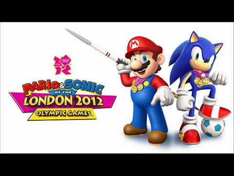 Mario and Sonic London 2012 Olympic Games Music  Dream Long Jump ~ Yoshi's Theme Remix   YouTube