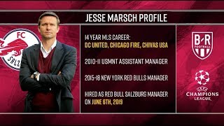 RB Salzburg's American Coach Jesse Marsch Makes History in the Champions League