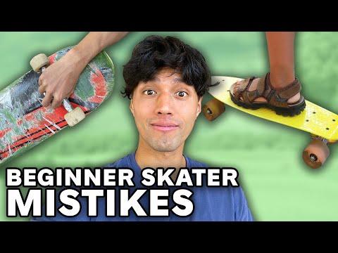 10 Mistakes BEGINNER SKATERS Make