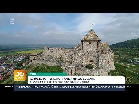 Közös klipet forgatott Varga Miklós lányával - Varga Miklós, Varga Vivien - ECHO TV