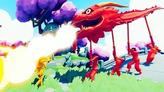 The New TABS Faction Has A DRAGON? - Dynasty Faction Update - Totally Accurate Battle Simulator Game