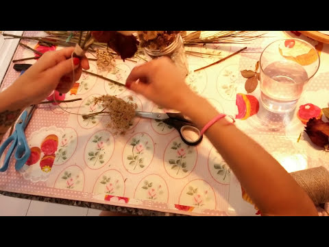 Secar flores con glicerina DIY,Drying flowers with GLYCERINE DIY,干花
