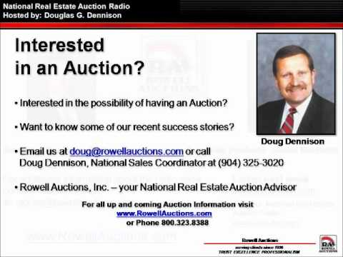EPIC FAIL GOVERNMENT WASTE - National Real Estate Auction Radio by Doug Dennison - 3/9/12