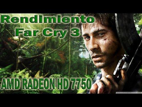 Rendimiento de Far Cry 3 AMD 7750 | R7 250 | R7 250X