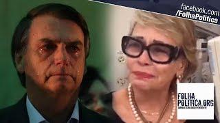 URGENTE: Ex-esposa de Bolsonaro se emociona e chora ao defendê-lo de ataque da VEJA