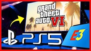 GTA 6 - МНОГО УТЕЧЕК! / Трейлер на E3 2019, Только PS5 и Xbox 2, Сюжет, Несколько Городов & Другое!