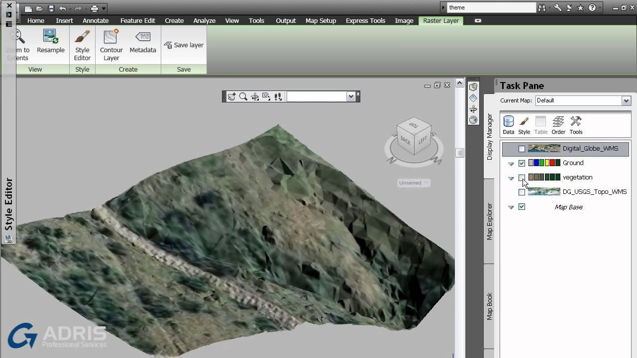 Autocad Map 3d Autocad Map 3d 2014 Workflow