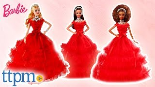 2018 Holiday Barbie Dolls Review | Mattel Toys & Games