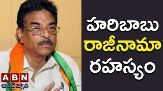 Reasons behind Hari Babu Resignation   Inside