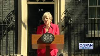 British Prime Minister Theresa May Resignation Statement (C-SPAN)