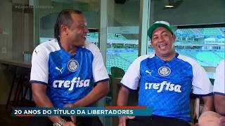 """""""Heróis"""" relembram conquista da Libertadores pelo Palmeiras"""