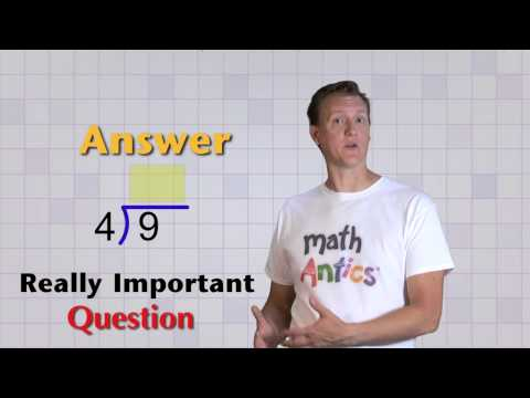 Math Antics - Basic Division