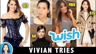 Should I Buy CHEAP Clothes From WISH - Vivian Tries