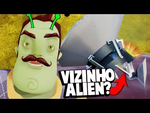 O VIZINHO É UM ALIEN?! HELLO NEIGHBOR TEM UM SEGREDO ESTRANHO! | Hello Neighbor (NOVO)