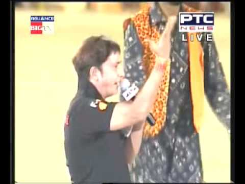 Sukhwinder Singh Performing Kabaddi Song At World Kabaddi Cup 2010 video