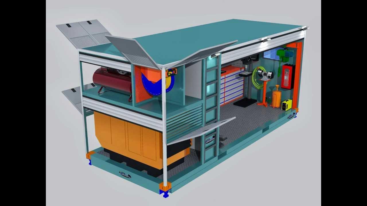 Mobile Workshop Truck Mobile Workshop Unit / Alura