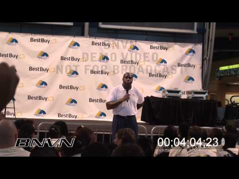 Earvin Magic Johnson Jr., video of talk to children about business Part 3 of 4