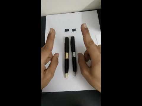 How, To USE Spy Pen Camera!! (2018)जासूस पेन कैमरा कैसे उपयोग करें(2018)