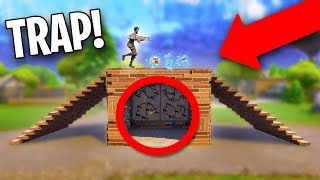 WOULD YOU FALL FOR THIS?? *FAKE FLOOR TRAP!* | Fortnite Battle Royale