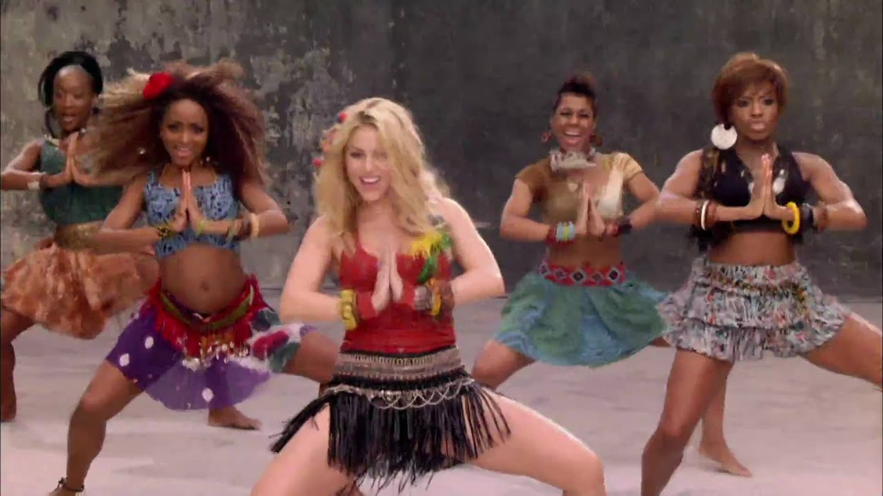 Шакира вака вака, Shakira - Waka Waka (FifaWorld Cup) - скачать 8 фотография