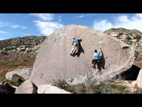 Culp Valley  - Chocolate Boulder Slabs
