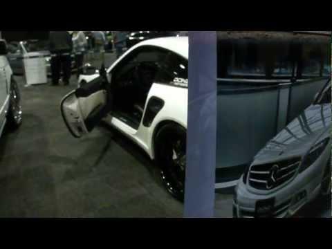 Porsche 911 Turbo at the DUB SHOW of the 2012 NEW YORK AUTO SHOW