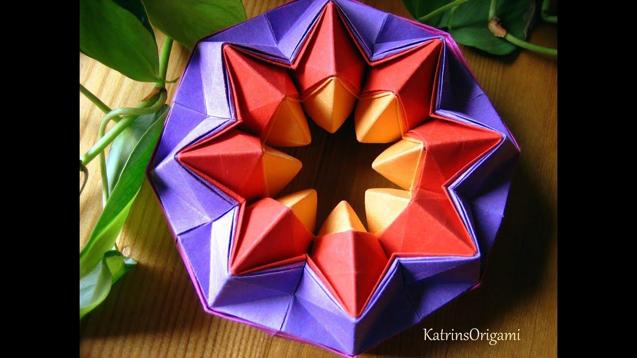 Magic Circle Paper Origami