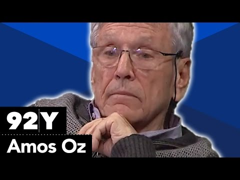 Amos Oz with Jonathan Wilson