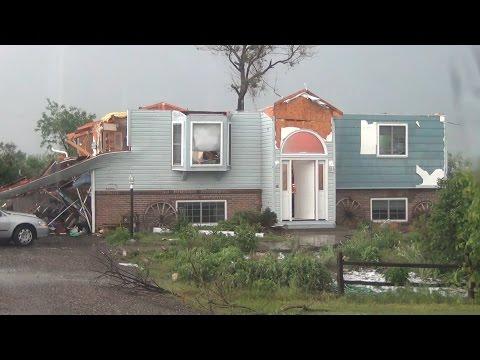 6/4/2015 Berthoud CO Tornado damage Hail