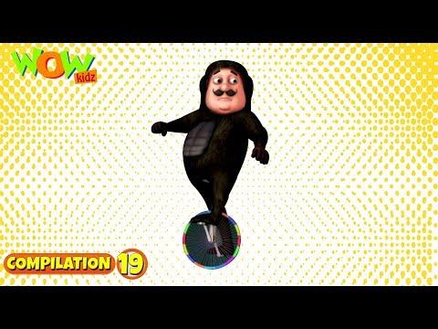 Motu Patlu - Non stop 3 episodes   3D Animation for kids - #19 thumbnail