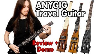 Anygig Guitar Travel Guitar Demo | Garrett Peters