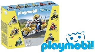 PLAYMOBIL SPORTS & ACTION - 5523 MOTO TOURING CON CENTAURO (ita) PLAYMOBIL REVIEW
