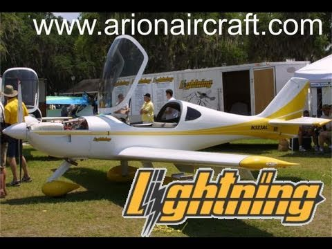 Lightning, Lightning light sport aircraft, experimental lightsport aircraft by Arion Aircraft