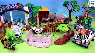 Playmobil Animals Zoo Playset Build and Play - Fun Toys For Kids