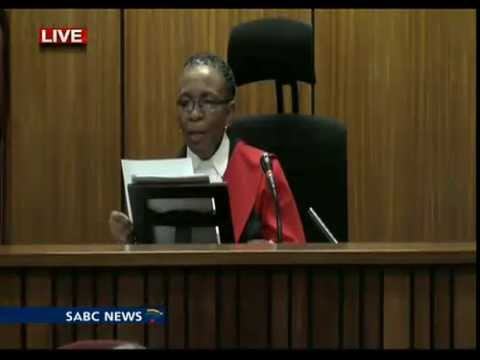 Oscar Pistorius Trial: Thursday: 11 September 2014, Session 4