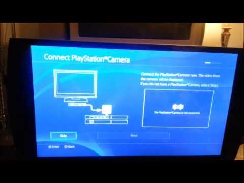 PS4 Initial Set-Up. Game Set-Up and UI Overview!