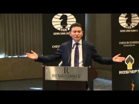 Speech by FIDE President Kirsan Ilyumzhinov at