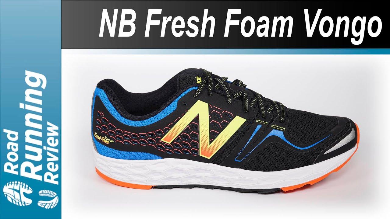 new balance fresh foam vongo v2 hombre white